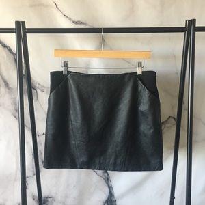 Ted Baker AUSTINE Leather Mini Skirt - SZ 3 (US 8)